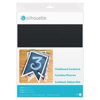 thumb-Chalkboard Cardstock - Adhesive back-1