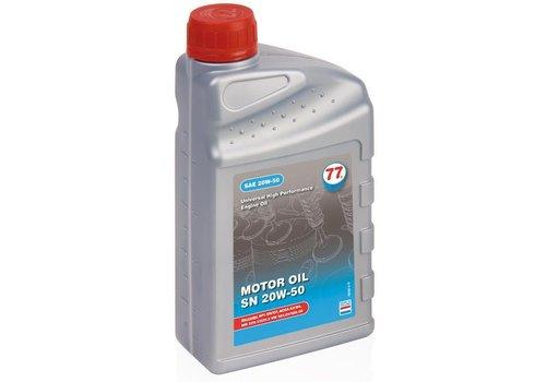 77 Lubricants Motorolie SN 20W-50, 1 lt
