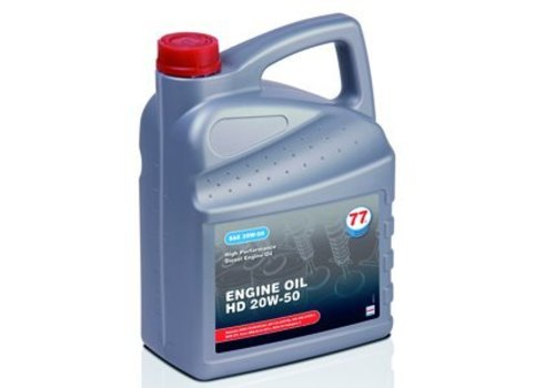 77 Lubricants Engine Oil HD 20W-50 - Heavy Duty, 5 lt