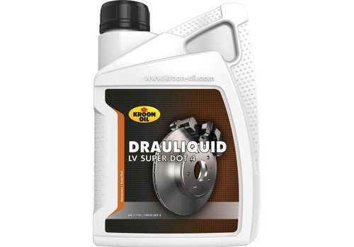 Kroon Drauliquid LV Super DOT 4 - Remvloeistof, 1 lt