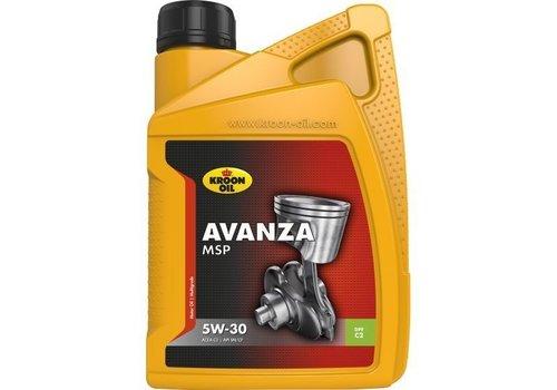 Kroon Avanza MSP 5W-30 - Motorolie, 1 lt