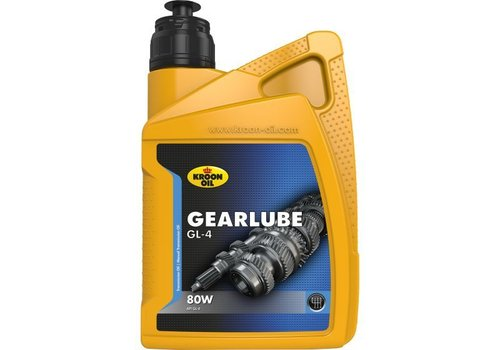 Kroon Gearlube GL-4 80W - Versnellingsbakolie, 1 lt