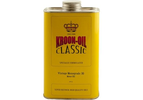 Kroon Vintage Monograde 30 - Motorolie, 1 lt