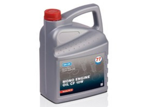 77 Lubricants Mono Engine Oil CF 10W - 5 lt