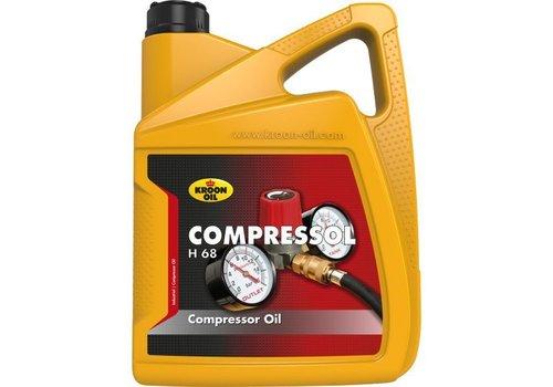 Kroon Compressol H 68 - Compressorolie, 5 lt
