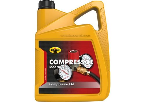 Kroon Compressol SCO 46 - Compressorolie, 5 lt