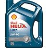 Shell Helix HX7 5W-40 - Motorolie, 5 lt