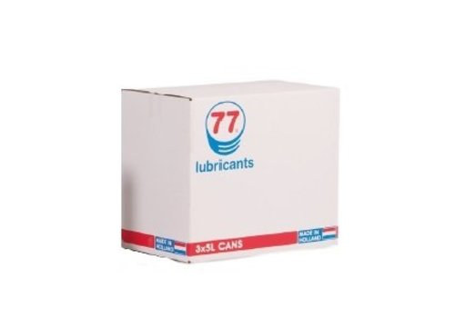 77 Lubricants Versnellingsbakolie EP 80W-90, 3 x 5 lt