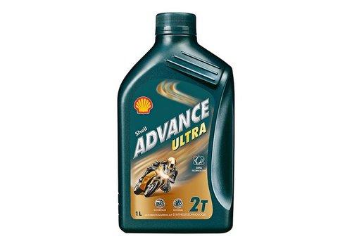 Shell Advance Ultra 2T - Motorfietsolie, 12 x 1 lt