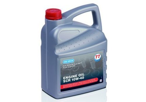 77 Lubricants Engine Oil SCR 10W-40, 5 lt