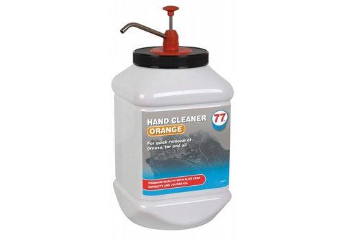 77 Lubricants Hand Cleaner Orange - Handreinigingscrème, 4.5 lt