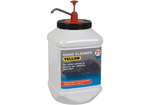 77 Lubricants Hand Cleaner Yellow - Handreinigingscrème, 4.5 lt