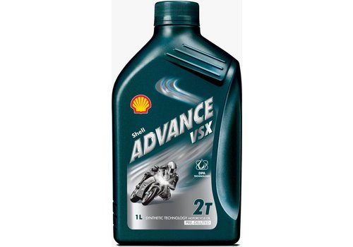 Shell Advance VSX 2 - Motorfietsolie, 1 lt