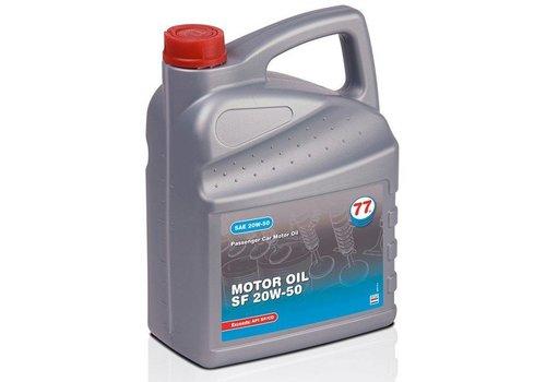 77 Lubricants Motorolie SF 20W-50, 5 lt