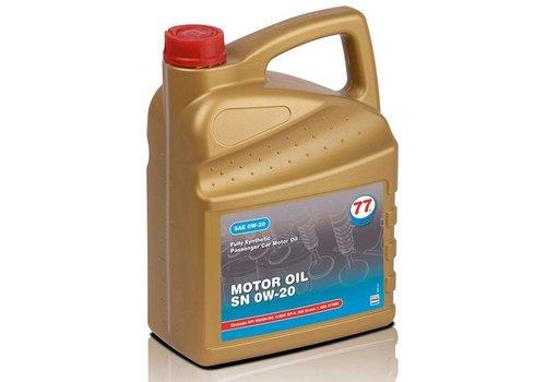 77 Lubricants Motorolie SN 0W-20, 5 lt