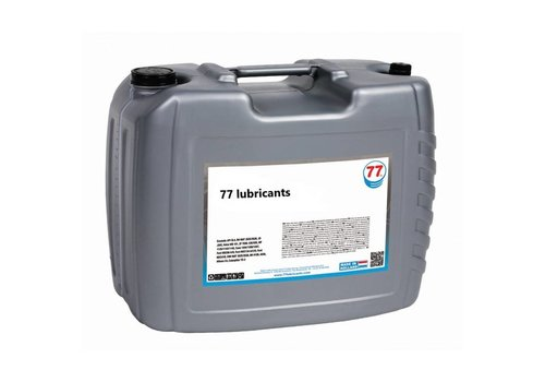 77 Lubricants Industriële Tandwielolie Synth 100, 20 lt