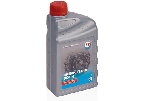 77 Lubricants DOT 4 - Remvloeistof, 1 lt