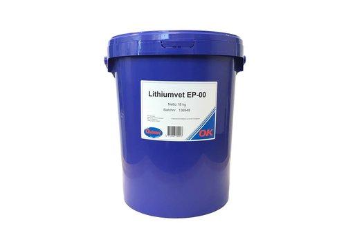 OK Olie Lithiumvet EP 00, 18 kg