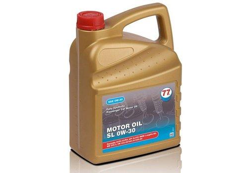 77 Lubricants Motorolie SL 0W-30, 5 lt