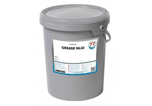 77 Lubricants EP Grease NLGI 1 - Vet, 18 kg
