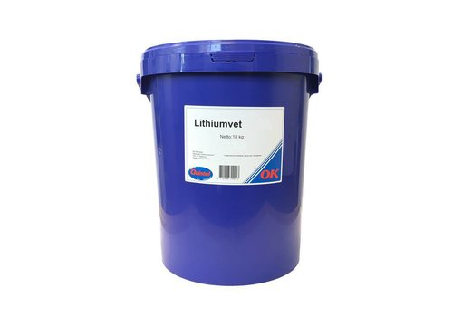 OK Olie Lithiumvet EP 0, 18 kg