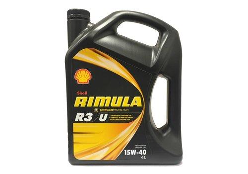 Shell Rimula R3 U 15W-40, Motorolie, 4 lt (Outlet)