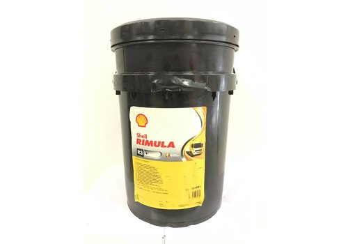 Shell Rimula R3+ 40 - Heavy duty engine olie, 20 lt (OUTLET)