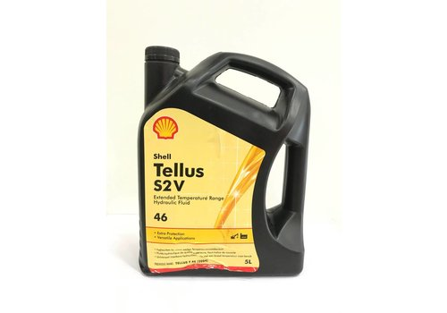 Shell Tellus S2 V 46 - Hydrauliekolie, 5 lt (OUTLET)