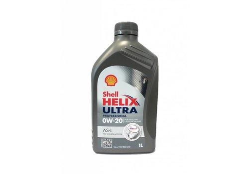 Shell Helix Ultra Pro 0W-20 AS-L - Motorolie, 1 lt (OUTLET)