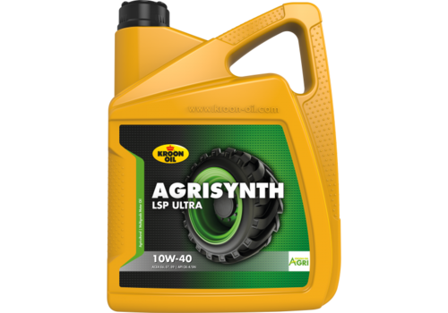 Kroon Agrisynth LSP Ultra 10W-40 - Tractorolie, 5 lt