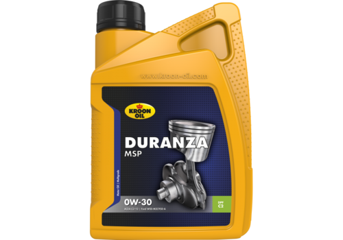 Kroon Duranza MSP 0W-30 - Motorolie, 1 lt