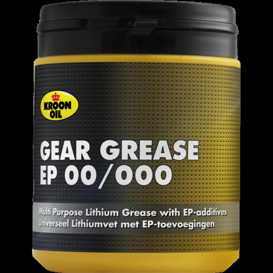 Gear Grease EP 00/000 - Vet, 6 x 600 gr