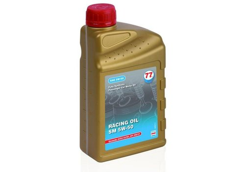 77 Lubricants Racing Oil SM 5W-50, 1 lt (OUTLET)