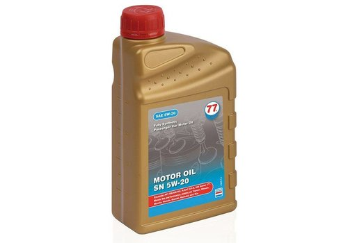 77 Lubricants Motorolie SN 5W-20, 1 lt (OUTLET)