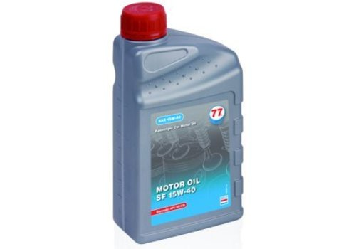 77 Lubricants Motorolie SF 15W-40, 1 lt (OUTLET)