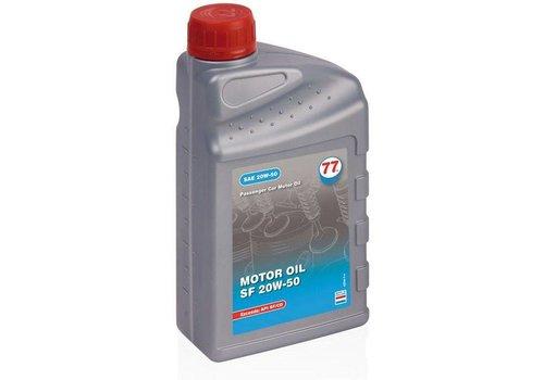 77 Lubricants Motorolie SF 20W-50, 1 lt (OUTLET)