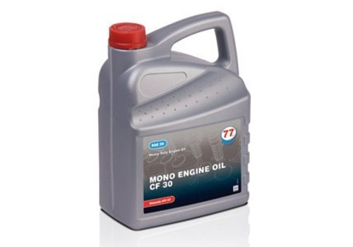 77 Lubricants Mono Engine Oil CF 30, 5 lt (OUTLET)