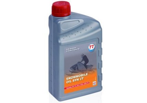 77 Lubricants Sneeuwscooter olie SYN 2T, 1 lt (OUTLET)