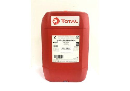 Total Rubia TIR 8900 10W-40, 20 lt (OUTLET)