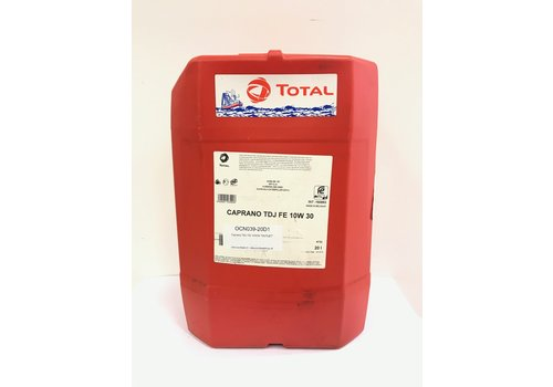 Total Caprano TDJ FE 10W-30, 20 lt (OUTLET)