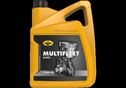 Kroon Multifleet SHPD 15W-40 - Motorolie, 5 lt