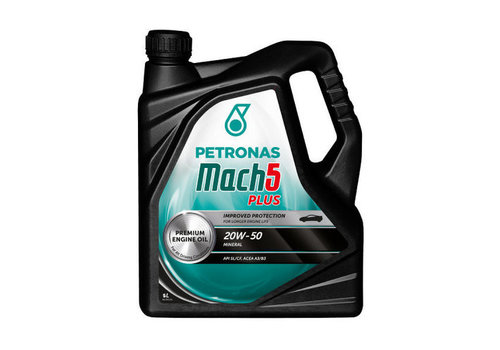 Petronas Mach 5 20W-50, 5 lt