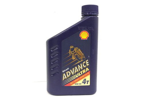 Shell Advance 4T Ultra 10W-40, 1 lt (OUTLET)