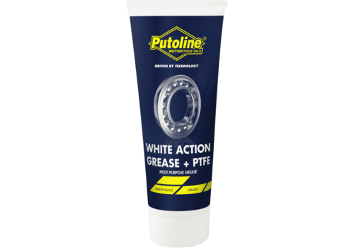 Putoline White Action Grease + PTFE - Vet, 100 gr