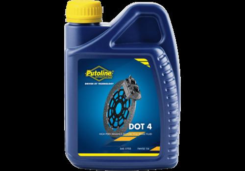 Putoline DOT 4 Brake Fluid - Remvloeistof, 1 lt