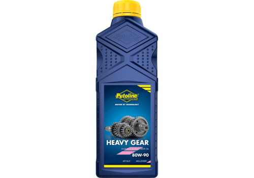 Putoline Heavy Gear 80W-90 - Transmissieolie, 1 lt