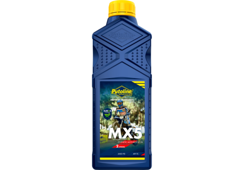 Putoline MX 5 - Motorfietsolie, 1 lt