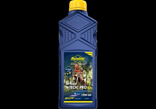 Putoline N-Tech® Pro R+ Off Road 10W-60 - Motorfietsolie, 1 lt