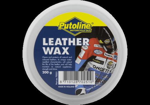 Putoline Leather Wax - Beschermingsmiddel, 200 gr