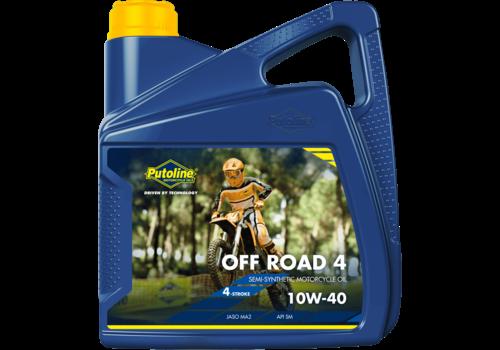 Putoline Off Road 4 10W-40 - Motorfietsolie, 4 lt